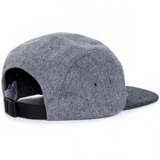 Herschel Glendale C Hat - Grey Wool/Charcoal