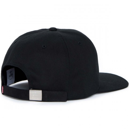 Herschel Albert Hat - Black Cotton