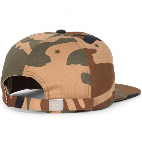 Herschel Albert Hat - Woodland Camo Cotton