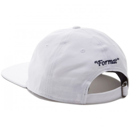 Format Einstein II Hat - White
