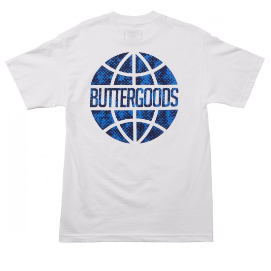 Butter Goods Scale Worldwide T-Shirt - White