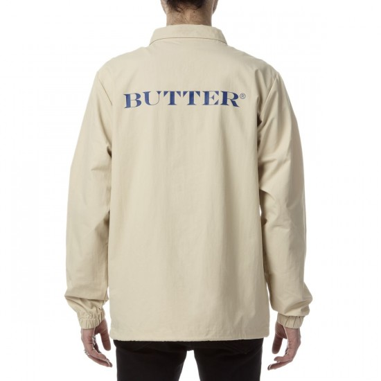 Butter Goods Rose Coach Jacket - Khaki