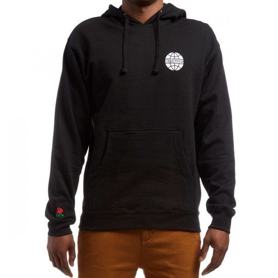 Butter Goods Rose Pullover Hoodie - Black