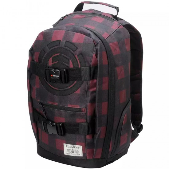 Element Mohave Premium Backpack - Napa Red/Flint Black