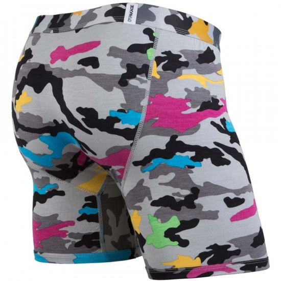 MyPakage Weekday Print Underwear - High-Vis Snow Camo