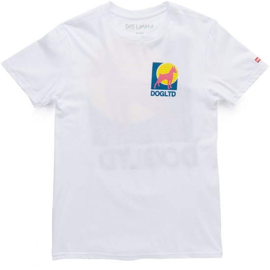 Dog Limited Lotto T-Shirt - White
