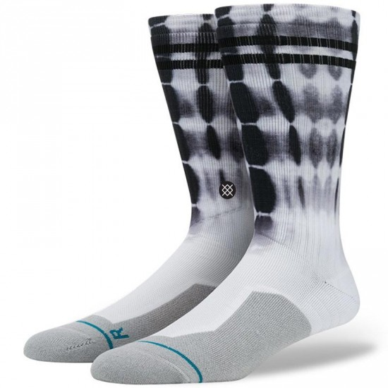 Stance Cloudy Socks - White