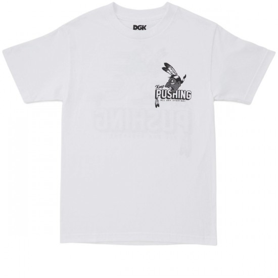 DGK Pushing T-Shirt - White