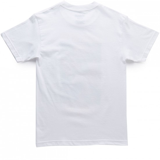 Gold Protect And Swerve T-Shirt - White