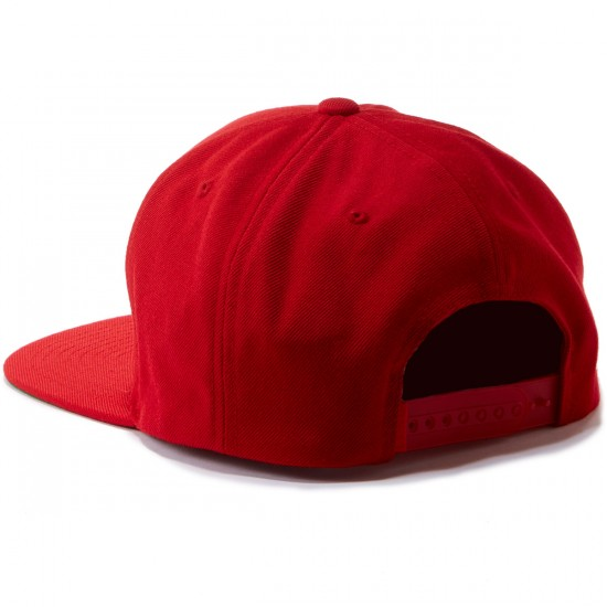 CLSC Floyd Snapback Hat - Red