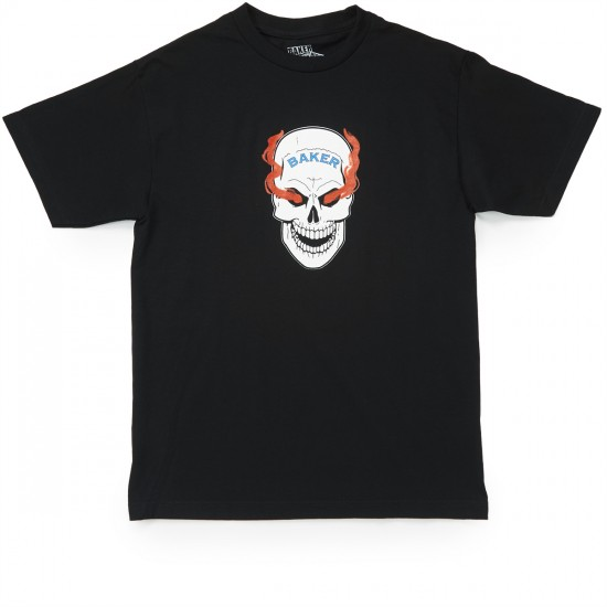 Baker Blood Shot T-Shirt - Black