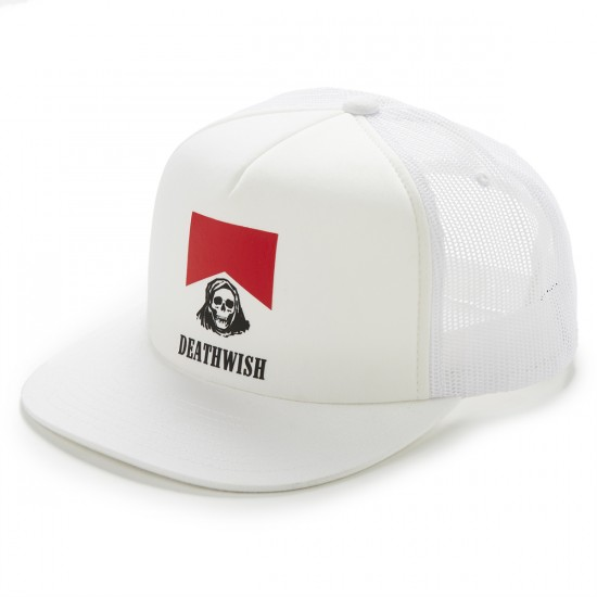 Deathwish Flavor Country Trucker Hat - White