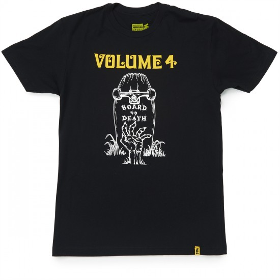Volume 4 Board To Death T-Shirt - Black