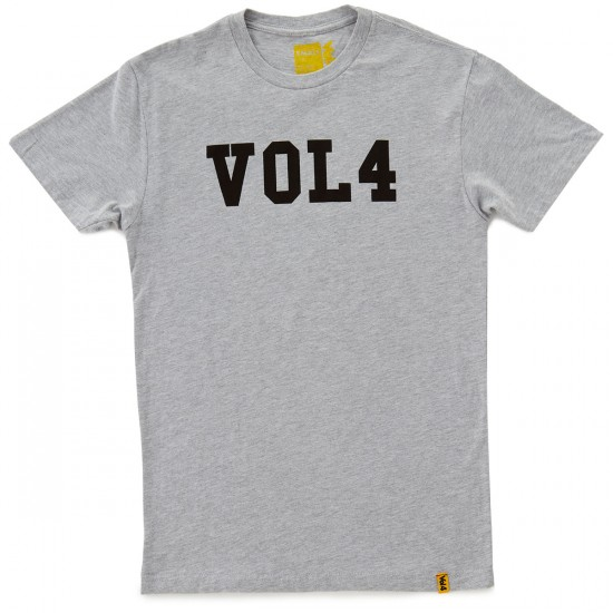 Volume 4 Dropout T-Shirt - Heather Grey