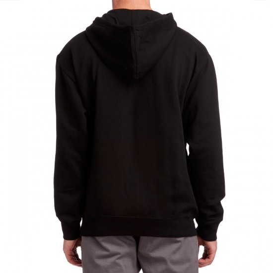 Volume 4 Pavement Artist Zip Up Hoodie - Black