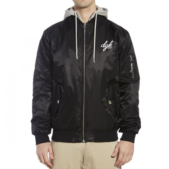 DGK Defend Bomber Jacket - Black