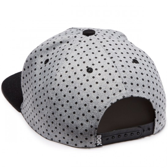 DGK Connect Snapback Hat - Athletic Heather