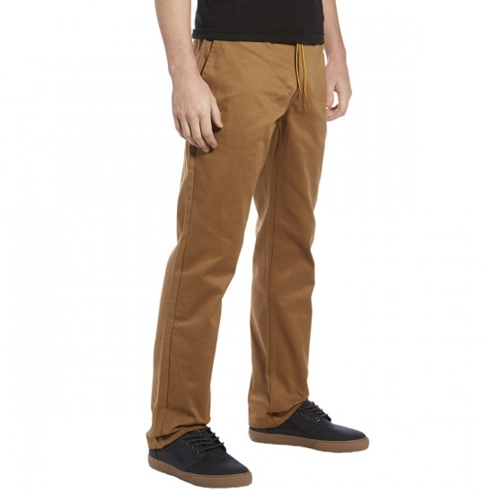 Expedition One Drifter Chino Pants - Dark Khaki - 28 - 32