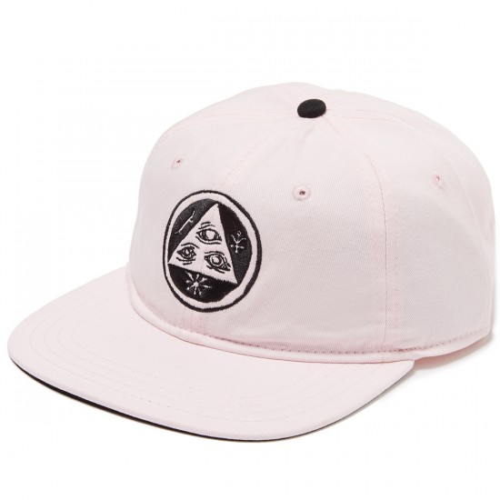 Welcome Talisman Unstructured Slider Hat - Pink/Black