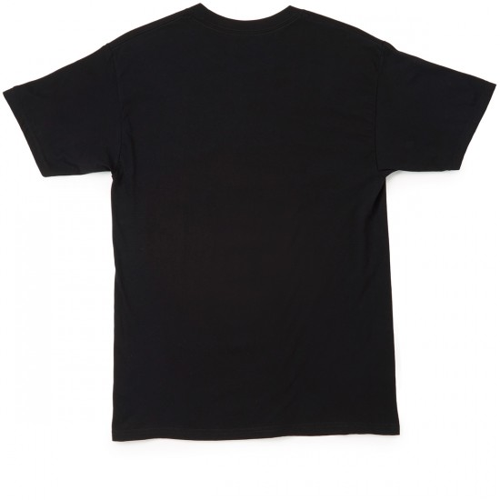 Welcome Skateboards Tracking T-Shirt - Black/White