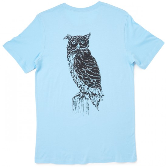 Welcome Skateboards Black Beak T-Shirt - Blue/Black