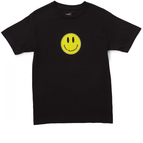 Baker Smiley T-Shirt - Black