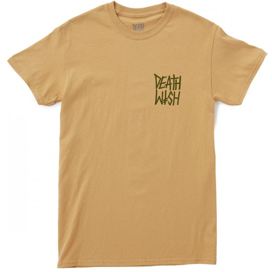 Deathwish The Truth T-Shirt - Mustard/Army