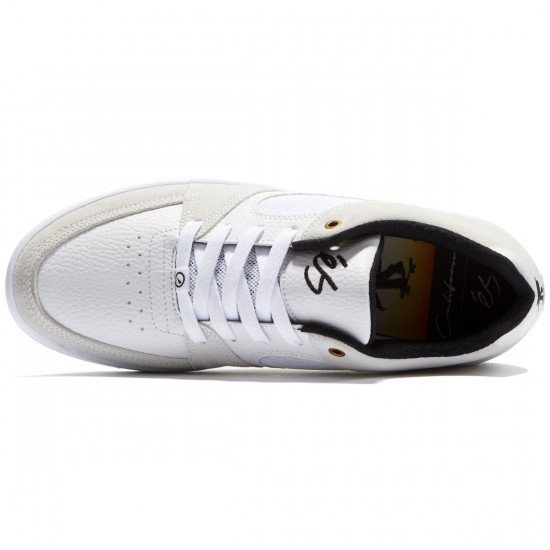 eS Accel Slim Shoes - White/White/Black - 10.0