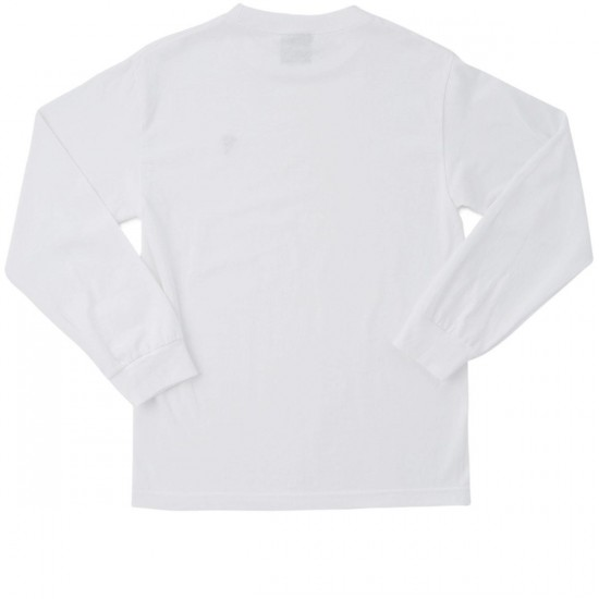Pizza Long Sleeve T-Shirt - White