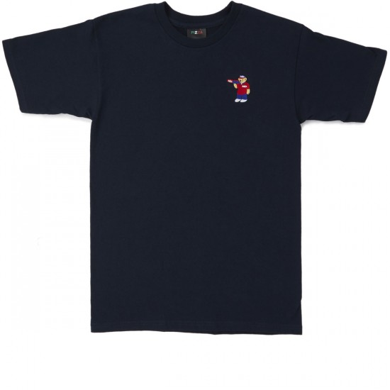 Pizza Bear T-Shirt - Navy