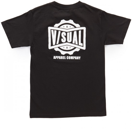 VISUAL Dialed Pocket T-Shirt - Black
