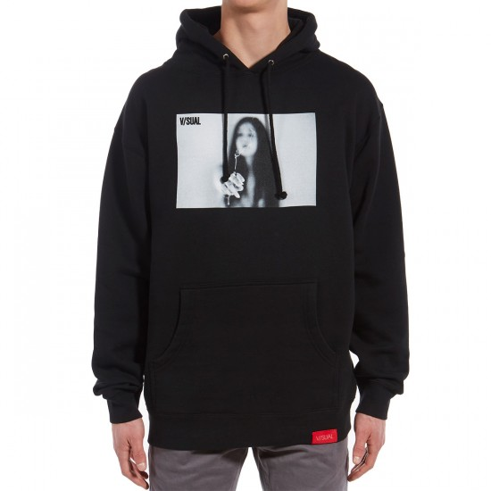 VISUAL Joint Pullover Hoodie - Black