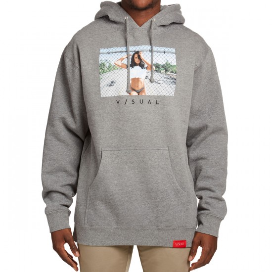 VISUAL One Seventy Pullover Hoodie - Gunmental Heather