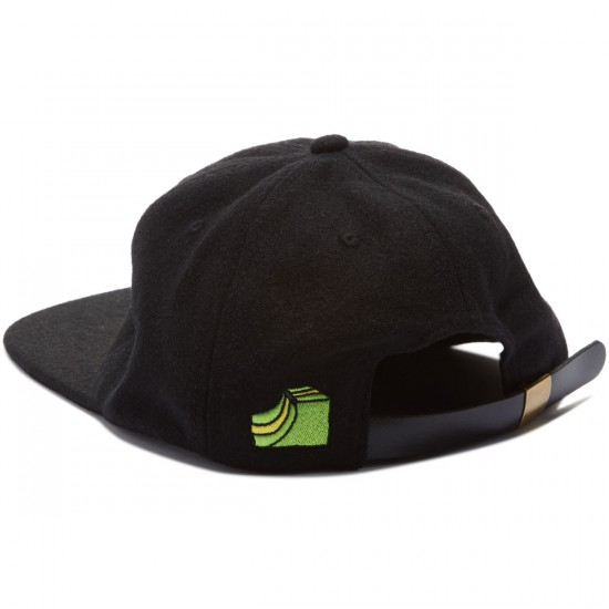 Illegal Civilization Sk8 Strapback Hat - Black