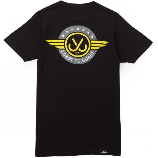 JSLV Flight Select T-Shirt - Black