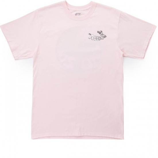 Transworld Agro Zone T-Shirt - Pink