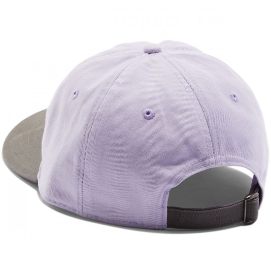Welcome Basic Witch Unstructured 6-Panel Slider Hat - Lavender/Charcoal