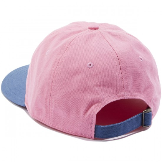 Welcome Basic Witch Unstructured 6-Panel Slider Hat - Pink/Slate