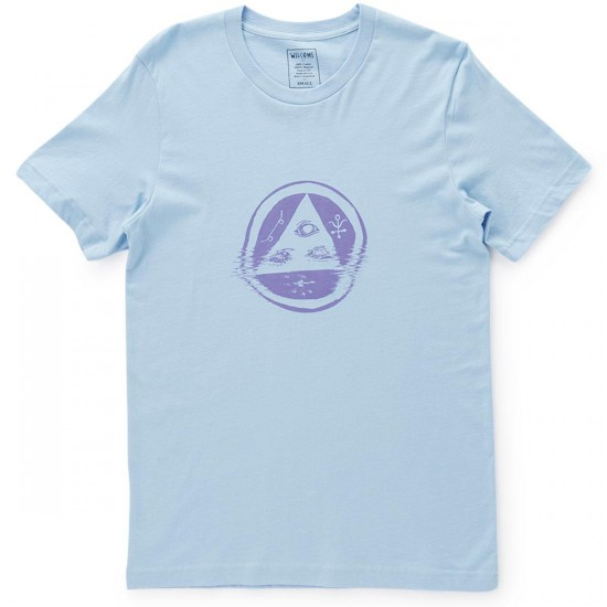 Welcome Tracking T-Shirt - Blue/Lavender