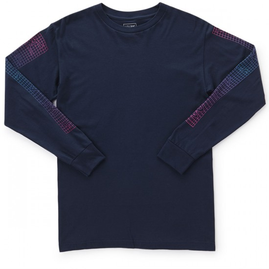 Welcome CLU Long Sleeve T-Shirt - Navy/Pink/Blue