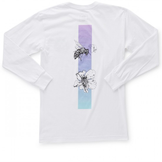 Welcome Adaptation Long Sleeve T-Shirt - White