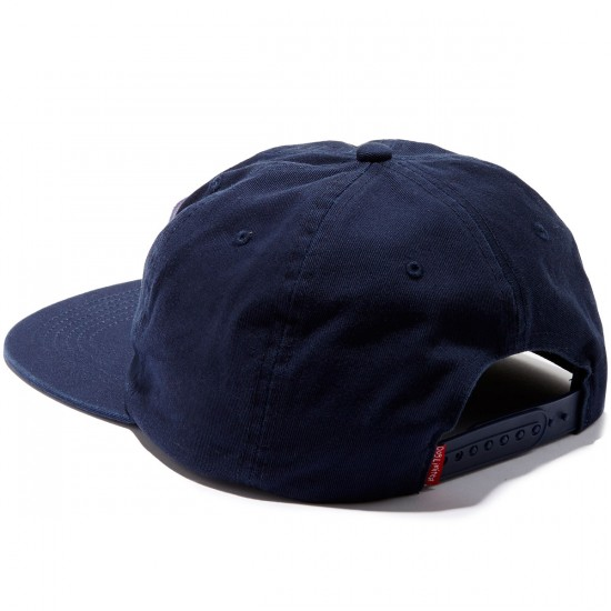 Dog Limited Dont Give A Snapback Hat - Navy