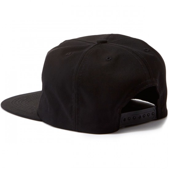 Old Friends Hugger Patch Snapback Hat - Black