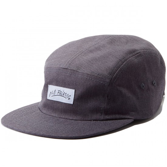 Old Friends Five Panel Hat - Grey