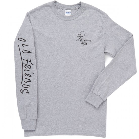 Old Friends OF Long Sleeve T-Shirt - Grey