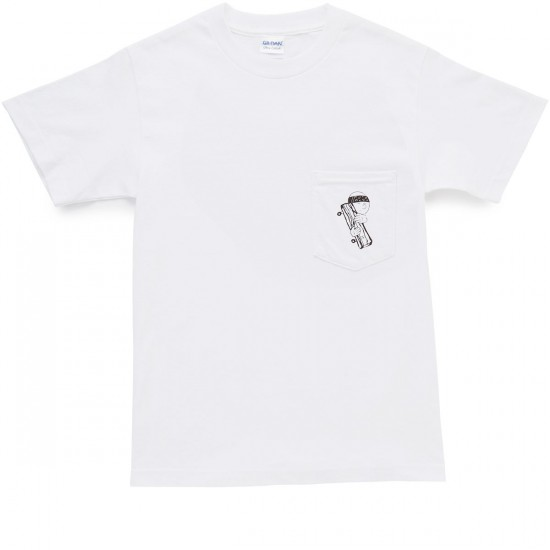 Old Friends Loco Hugger Pocket T-Shirt - White