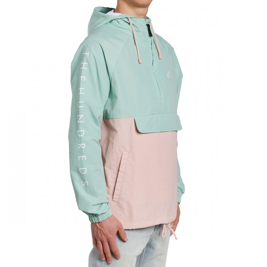 The Hundreds Dell Anorak Jacket - Pale Turquoise