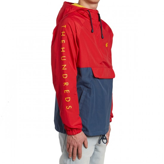 The Hundreds Dell Anorak Jacket - Red
