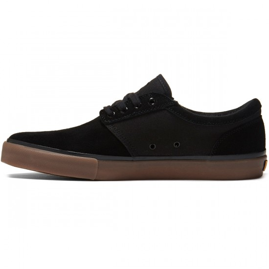 State Elgin Shoes - Black/Gum Suede - 8.0