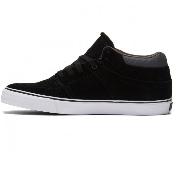 State Mercer Shoes - Black/Pewter Suede - 8.0